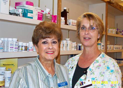 Mountain Home Christian Clinic Pharmacy volunteers